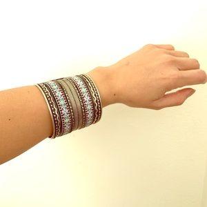 Beaded bangle/ bracelet